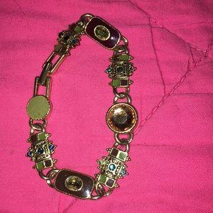 Liz Claiborne's bracelet earth tone stones